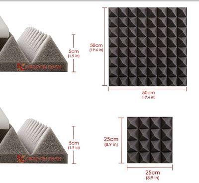pannello fonoassorbente arrowzoom dimensioni