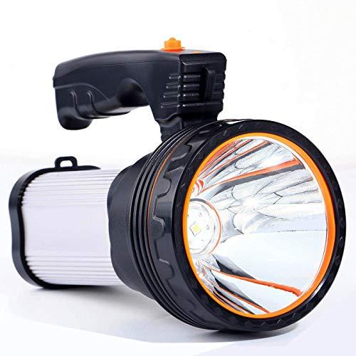 Torcia ROMER LED Ricaricabile con Batteria da 9000Mah e LED Cree