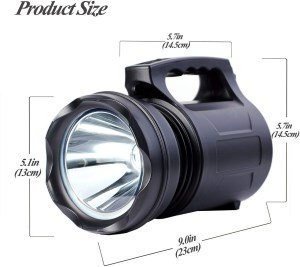 alflash torcia led 10000 lumen