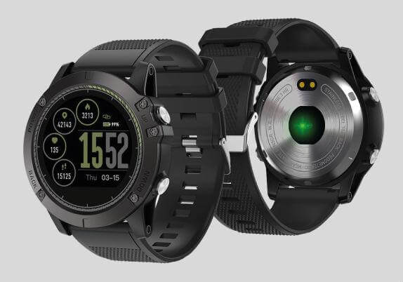X Tactical Watch Fronte Retro