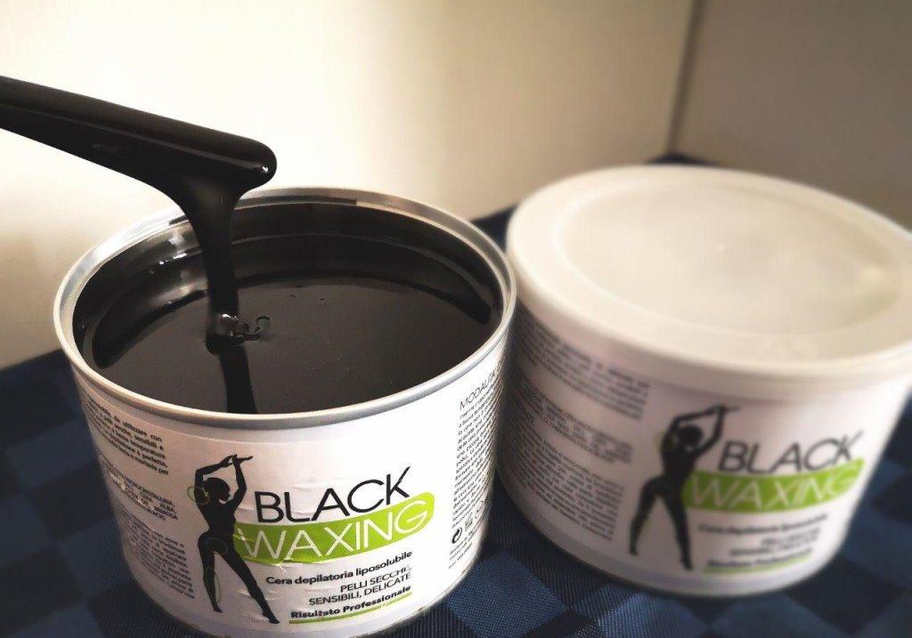 black waxing come fatta