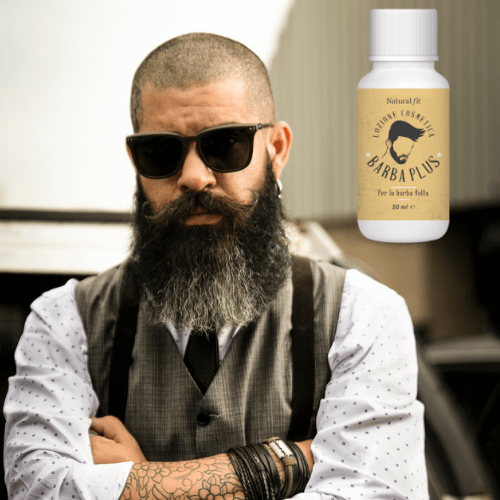 uomo barba plus